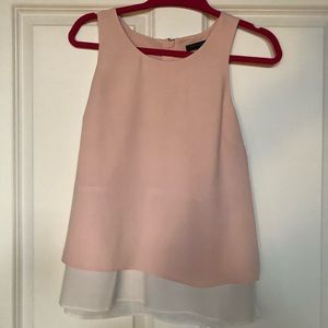 Flirty pink tank top from Banana Republic